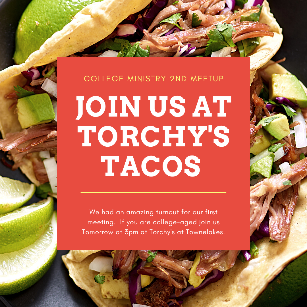 College Students Gathering Tomorrow at Torchys