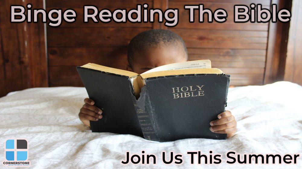 Binge Reading The Bible