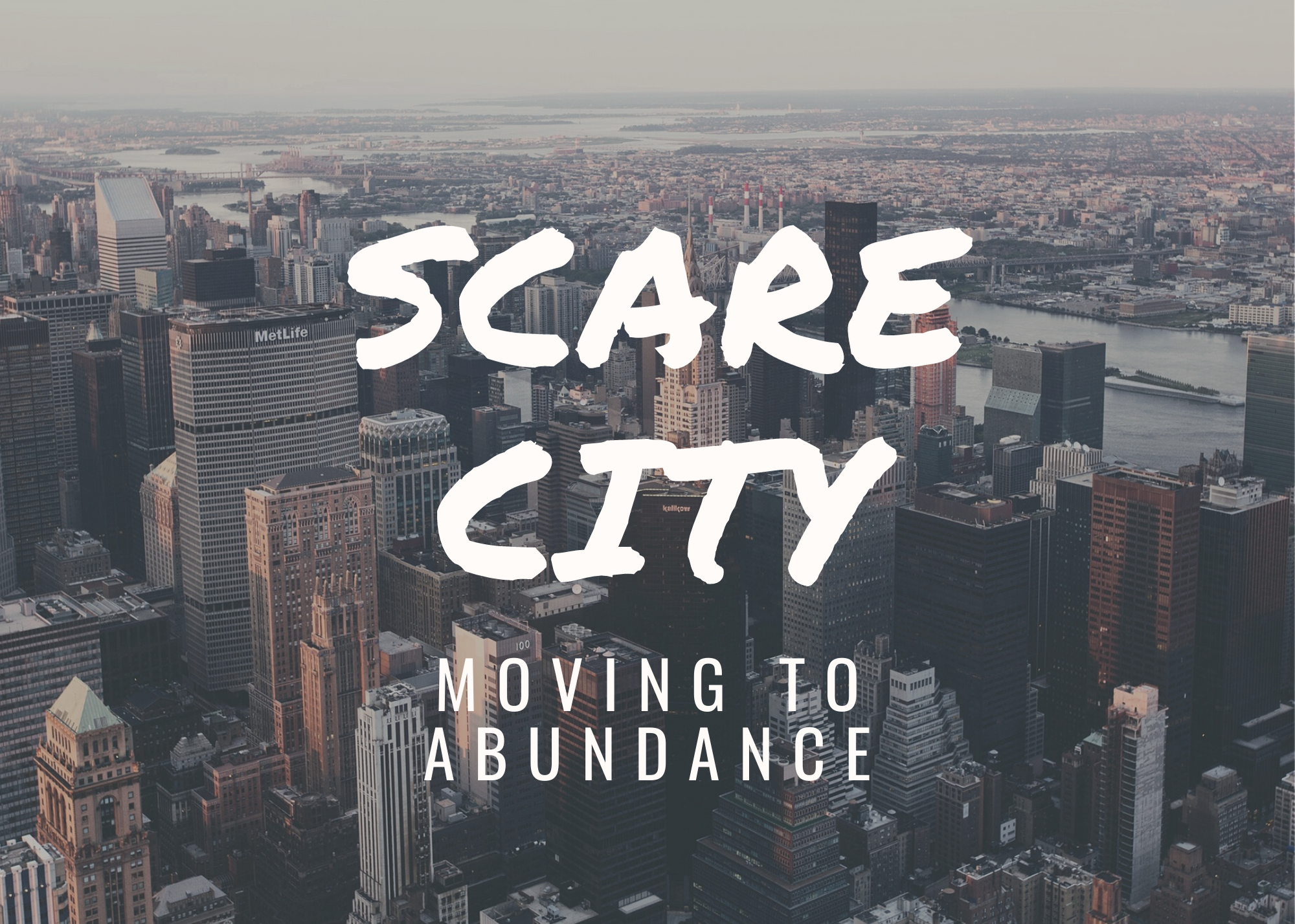 Scare City or Abundance Image